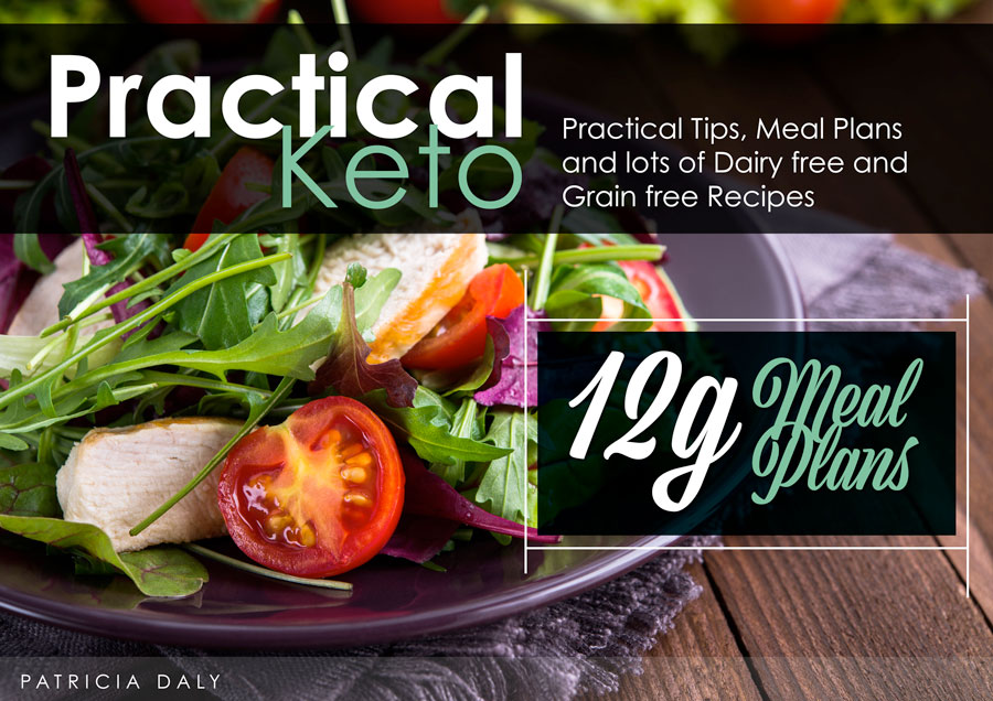 Practical 12-Gram Keto Meal Plans eBook